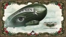 Hendrick's Gin Flying Cucumber