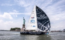 Old Pulteney Clipper during New York City stopover on June 4, 2014