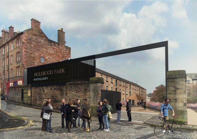Holyrood Park Distillery CGI